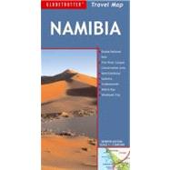 Namibia Travel Map, 7th by Globetrotter, 9781847736901