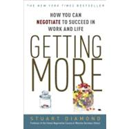 Getting More by DIAMOND, STUART, 9780307716903