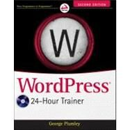 WordPress 24-Hour Trainer by Plumley, George, 9781118066904