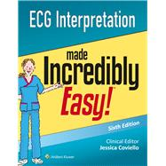 ECG Interpretation Made Incredibly Easy by Coviello, Jessica, 9781496306906