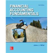 Financial Accounting Fundamentals by Wild, John; Shaw, Ken; Chiappetta, Barbara, 9781259726910