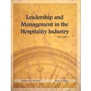 Leadership and Management in the Hospitality Industry with Answer Sheet (AHLEI) by Woods, Robert H.; King, Judy Z.; Sciarini, Michael S.; American Hotel & Lodging Association, 9780133076912