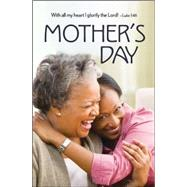 Mother & Daughter Mother's Day Bulletin Regular