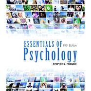 Essentials of Psychology, Looseleaf with Access Card by Stephen Franzoi, 9781618826916
