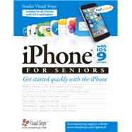 iPhone with iOS 9 for Seniors by Studio Visual Steps, 9789059056916