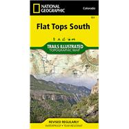 National Geographic Flat Tops South Map by National Geographic Maps - Trails Illustrated, 9781566956918