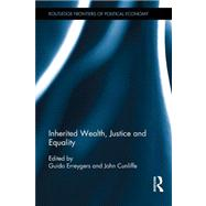 Inherited Wealth, Justice and Equality by Erreygers; Guido, 9780415516921