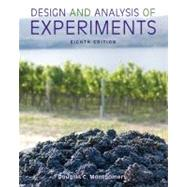 Design and Analysis of Experiments, 8th Edition by Montgomery, 9781118146927