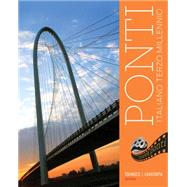 Student Activities Manual for Tognozzi/Cavatorta's Ponti, 3rd by Tognozzi, Elissa; Cavatorta, Giuseppe, 9781111836931