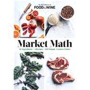 Market Math by Food & Wine, 9780848746933