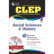 CLEP Social Sciences and History w/CD (REA) - The Best Test Prep for the CLEP Social Sciences and History by Dittloff, Scott, 9780738606934