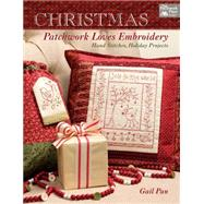 Christmas Patchwork Loves Embroidery by Pan, Gail, 9781604686937