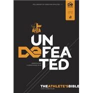 The Athlete's Bible Undefeated by Unknown, 9781433616938