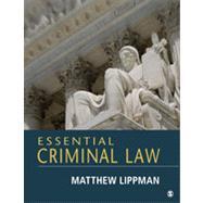 Essential Criminal Law by Lippman, Matthew, 9781452276939