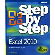 Microsoft Excel 2010 Step by Step by Frye, Curtis, 9780735626942