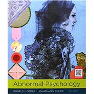 Abnormal Psychology by Comer, Ronald J.; Comer, Jonathan S., 9781319066949