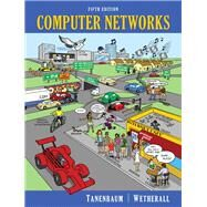 Computer Networks by Tanenbaum, Andrew S.; Wetherall, David J., 9780132126953