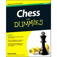 Chess For Dummies by Eade, James, 9781118016954
