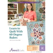 Learn to Quilt With 60-degree Rulers: With Instructor Marci Baker by Baker, Marci, 9781573676960