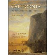 California: An Interpretive History by Rawls, James; Bean, Walton, 9780073406961