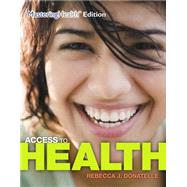 Access to Health Plus MasteringHealth with eText -- Access Card Package by Donatelle, Rebecca J.; Ketcham, Patricia, 9780321976963