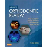 Mosby's Orthodontic Review by English, Jeryl D., 9780323186964