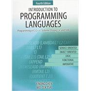 Introduction to Programming Languages by Chen, Yinong; Tsai, Wei-tek, 9781465276964