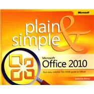 Microsoft Office 2010 Plain & Simple at Biggerbooks.com