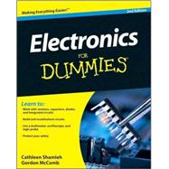 Electronics For Dummies by Shamieh, Cathleen; McComb, Gordon, 9780470286975