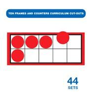 Ten Frames and Counters Cut-outs by Carson-Dellosa Publishing Company, Inc., 9781483816975