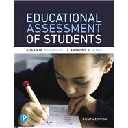 Educational Assessment of Students plus with MyLab Education with Pearson eText -- Access Card Package by Brookhart, Susan M.; Nitko, Anthony J., 9780134806976