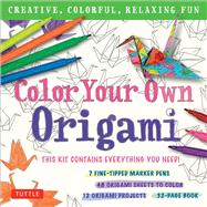 Color Your Own Origami by Tuttle Publishing, 9780804846981