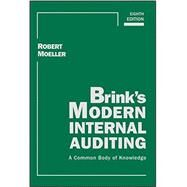 Brink's Modern Internal Auditing by Moeller, Robert R., 9781119016984
