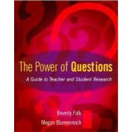 The Power Of Questions by Falk, Beverly, 9780325006987
