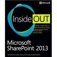 Microsoft SharePoint 2013 Inside Out by Shadravan, Darvish; Coventry, Penelope; Resing, Thomas; Wheeler, Christina, 9780735666993