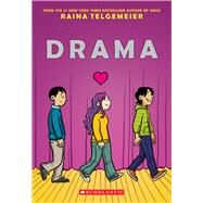Drama by Telgemeier, Raina, 9780545326995
