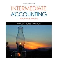 Bundle: Intermediate Accounting: Reporting and Analysis, 2nd + CengageNOWv2 Printed Access Card, 2nd Edition by Wahlen; Jones; Pagach, 9781305616998