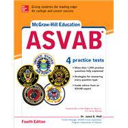 McGraw-Hill Education ASVAB, Fourth Edition by Wall, Janet, 9781259837005