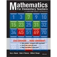 Mathematics for Elementary Teachers by Musser, Gary L.; Peterson, Blake E.; Burger, William F., 9781118487006