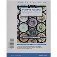 College Algebra in Context, Books a la Carte Edition plus MyMathLab with Pearson eText -- Access Card Package by Harshbarger, Ronald J.; Yocco, Lisa S., 9780134397016