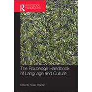 The Routledge Handbook of Language and Culture by Sharifian; Farzad, 9780415527019