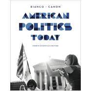 American Politics Today by Bianco, William T.; Canon, David T., 9780393937022