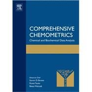 Comprehensive Chemometrics by Tauler; Walczak; Brown, 9780444527028