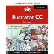 Illustrator CC Visual QuickStart Guide (2014 release) by Weinmann, Elaine; Lourekas, Peter, 9780133987034