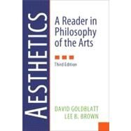Aesthetics: A Reader in Philosophy of the Arts by Goldblatt,David, 9780205017034