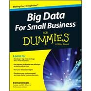 Big Data for Small Business for Dummies by Marr, Bernard, 9781119027034