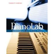 PianoLab An Introduction to Class Piano (with Premium Website Printed Access Card & Keyboard for Piano) by Lindeman, Carolynn A., 9780495917038