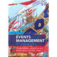 Events Management: An Introduction by Bladen; Charles, 9781138907041
