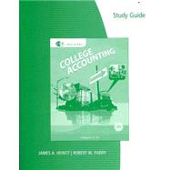 Study Guide with Working Papers, Chapters 1-9 and 10-15 (with Combination Journal Module) for Heintz/Parry's College Accounting, 20th