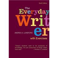 The Everyday Writer with Exercises by Lunsford, Andrea A., 9781319027049